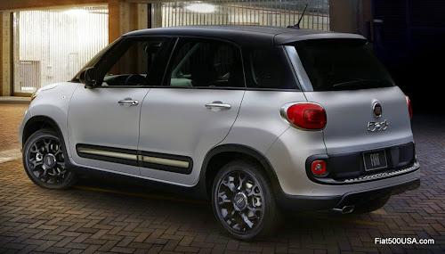 Fiat 500L Urbana Trekking Rear