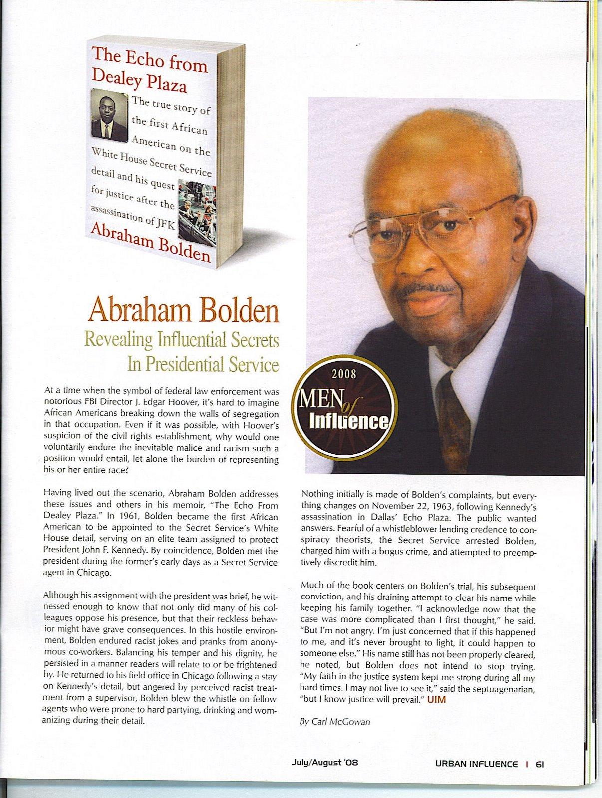 ABRAHAM BOLDEN