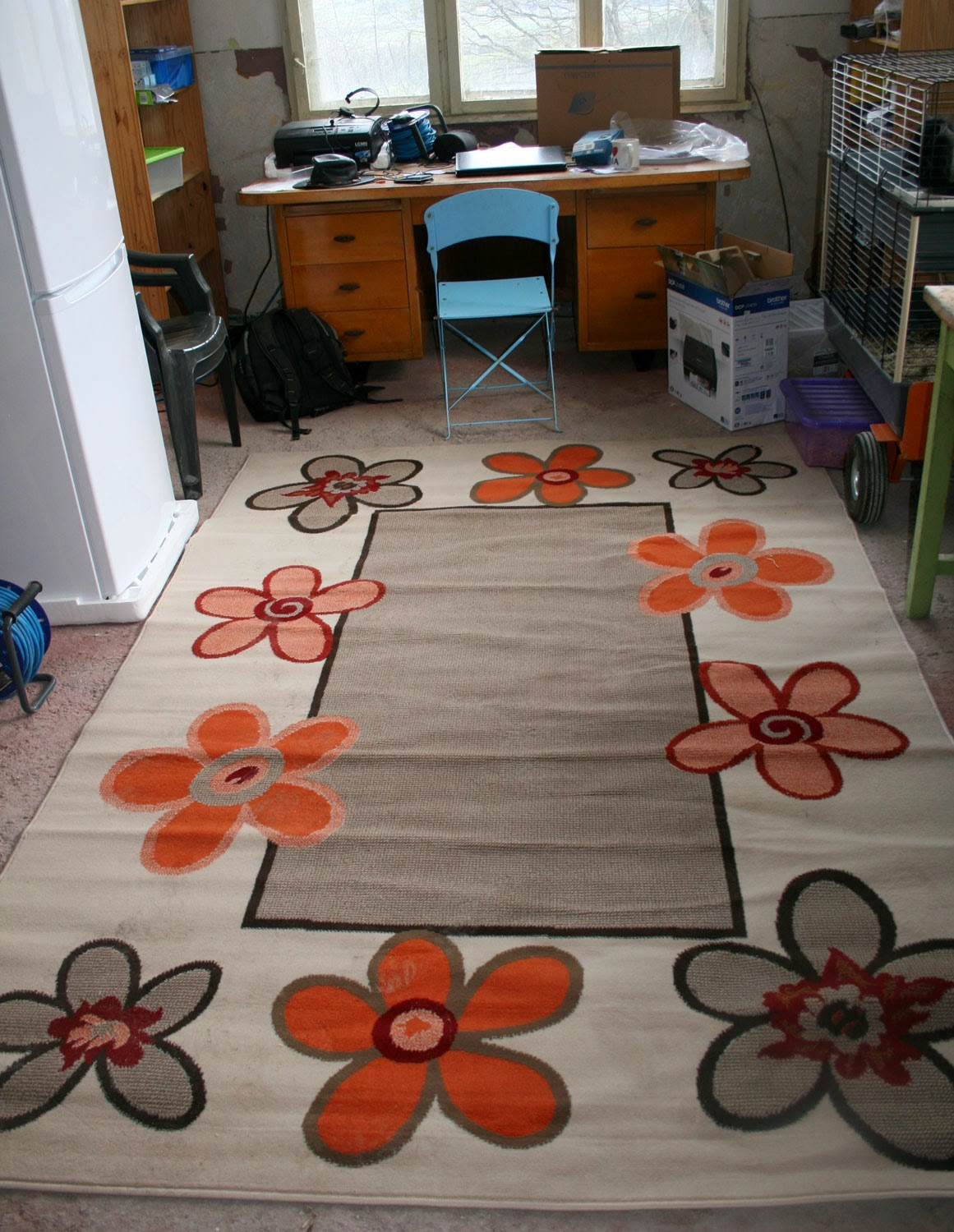 My new rug, down in Room 13