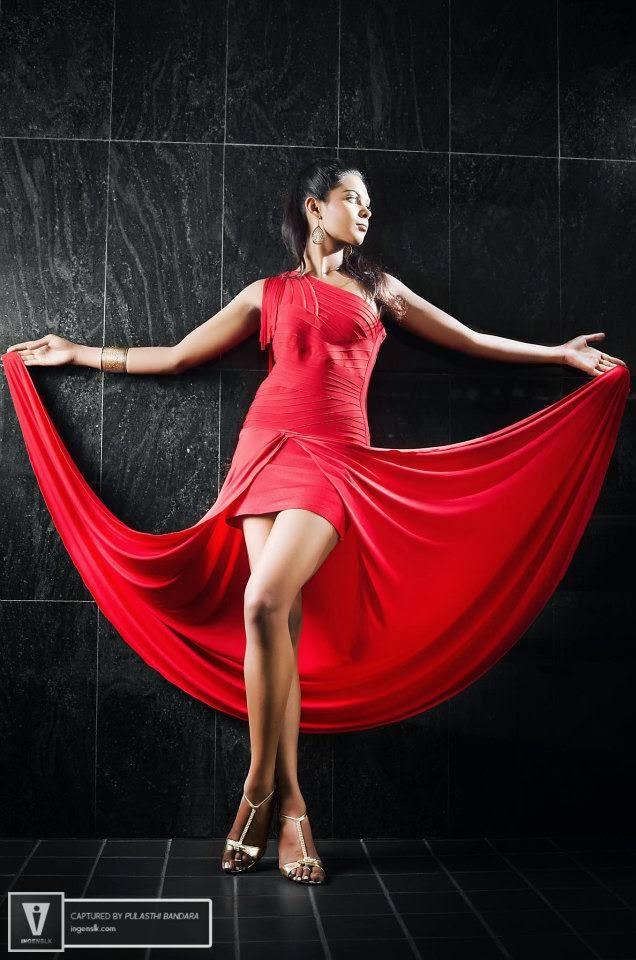 Ayanthi Matarage sri lanka model
