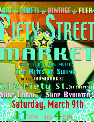 Piety St Market March 9th Flyer