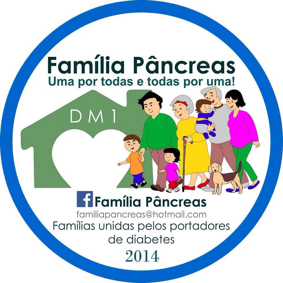 Família Pâncreas, nós apoiamos!!