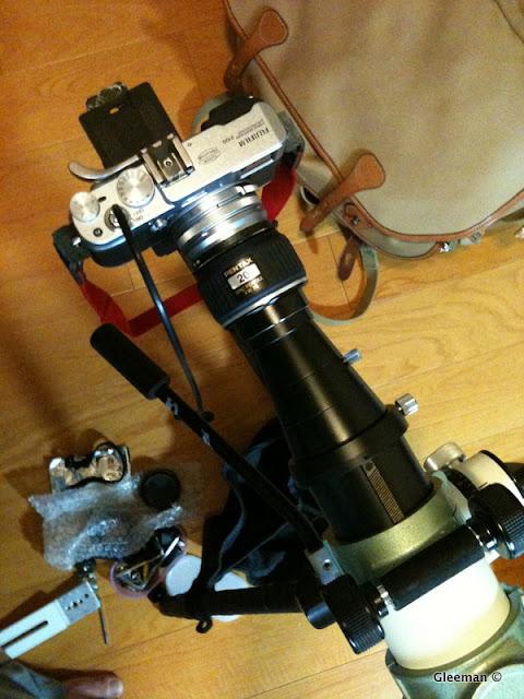 Digiscoping with Fujifilm X100 (Pentax 75SDHF)
