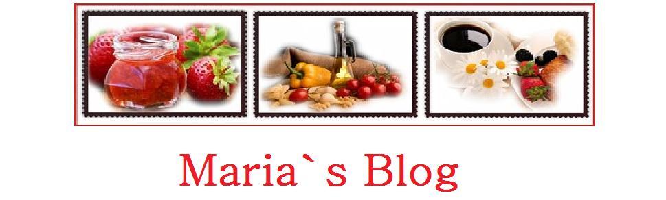 Maria`s Blog