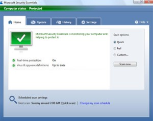 Windows Defender Antivirus for Windows 8
