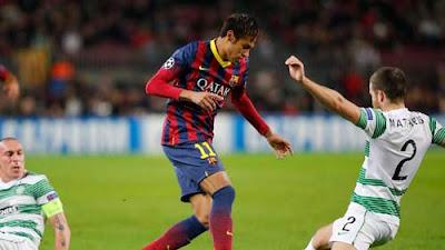 Xem lại đầy đủ trận Barcelona vs Celtic