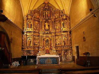 El Retaule Major de l'església Vella d'Oló