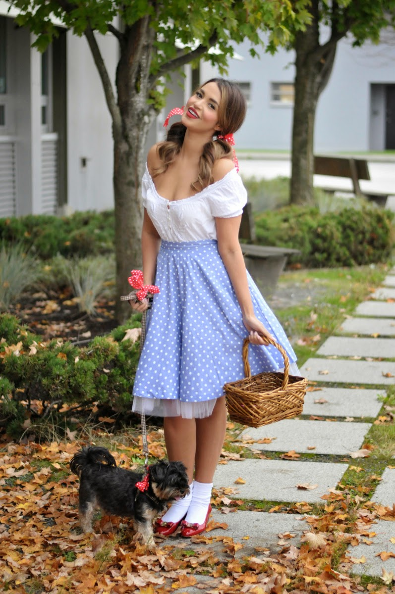 A Glam-o-ween: Dorothy & Toto | Gumboot Glam | A Vancouver Based ...