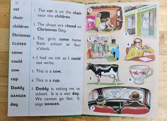 Vintage children's books, Ladybird Tuesday