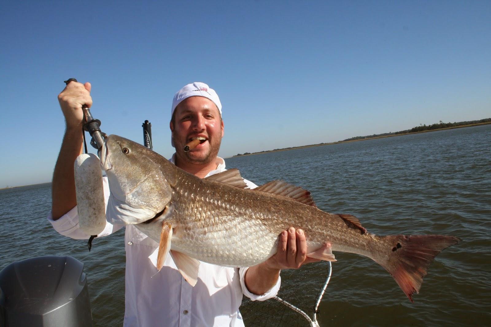Affinity charters for Kiawah island fishing