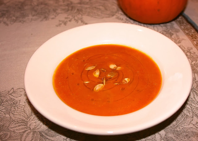 Red Kuri Squash Soup: Simple Living and Eating