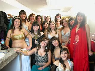 agradecimiento a mis alumnas de danza oriental
