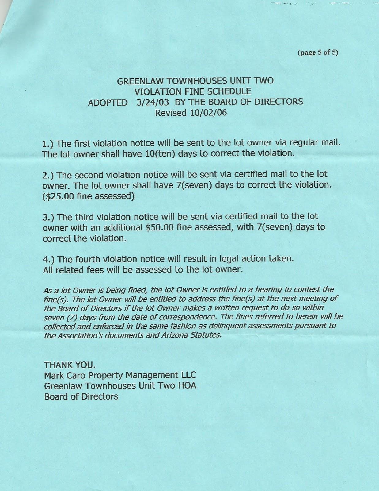 Greenlaw townhouses 2016 hoa rules regulation spiritdancerdesigns Choice Image
