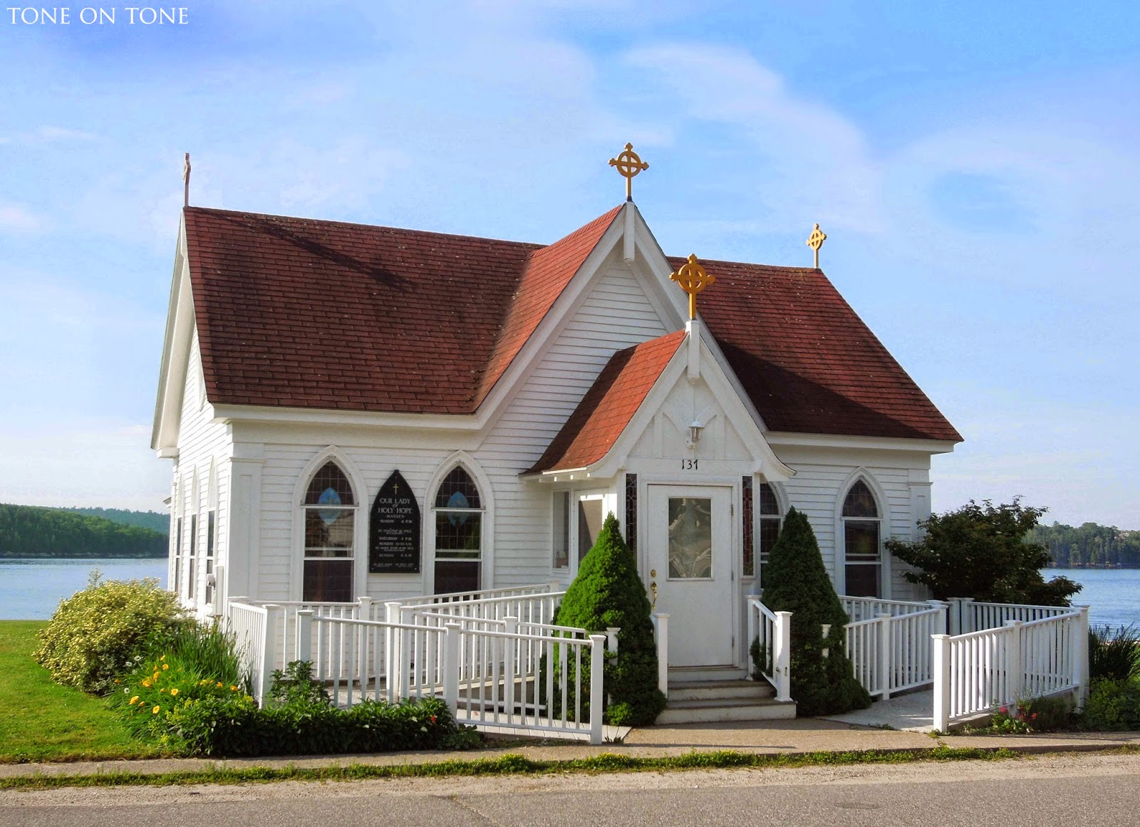 Tone on tone welcome to castine maine - Homes in old churches ...