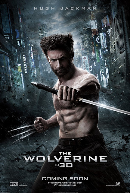 THE WOLVERINE SAMURAI SWORD POSTER