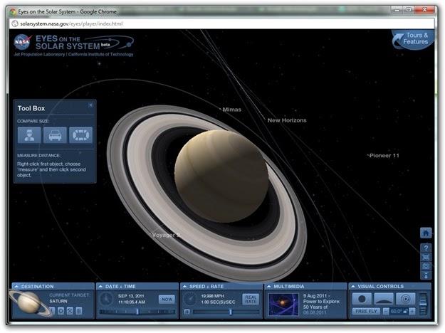 online 3d solar system explore - photo #17