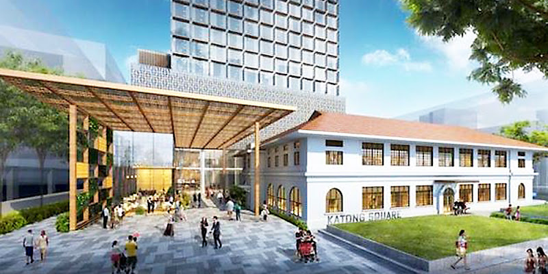 Katong Square Singapore  - The International Food Hub Singapore