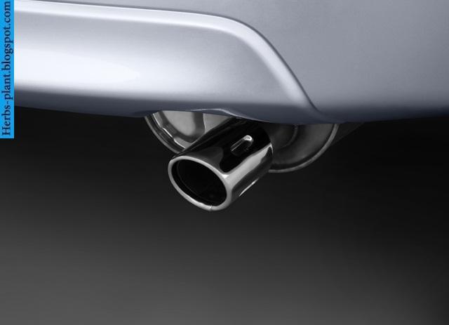 Mitsubishi lancer car 2013 exhaust - صور شكمان سيارة ميتسوبيشى لانسر 2013