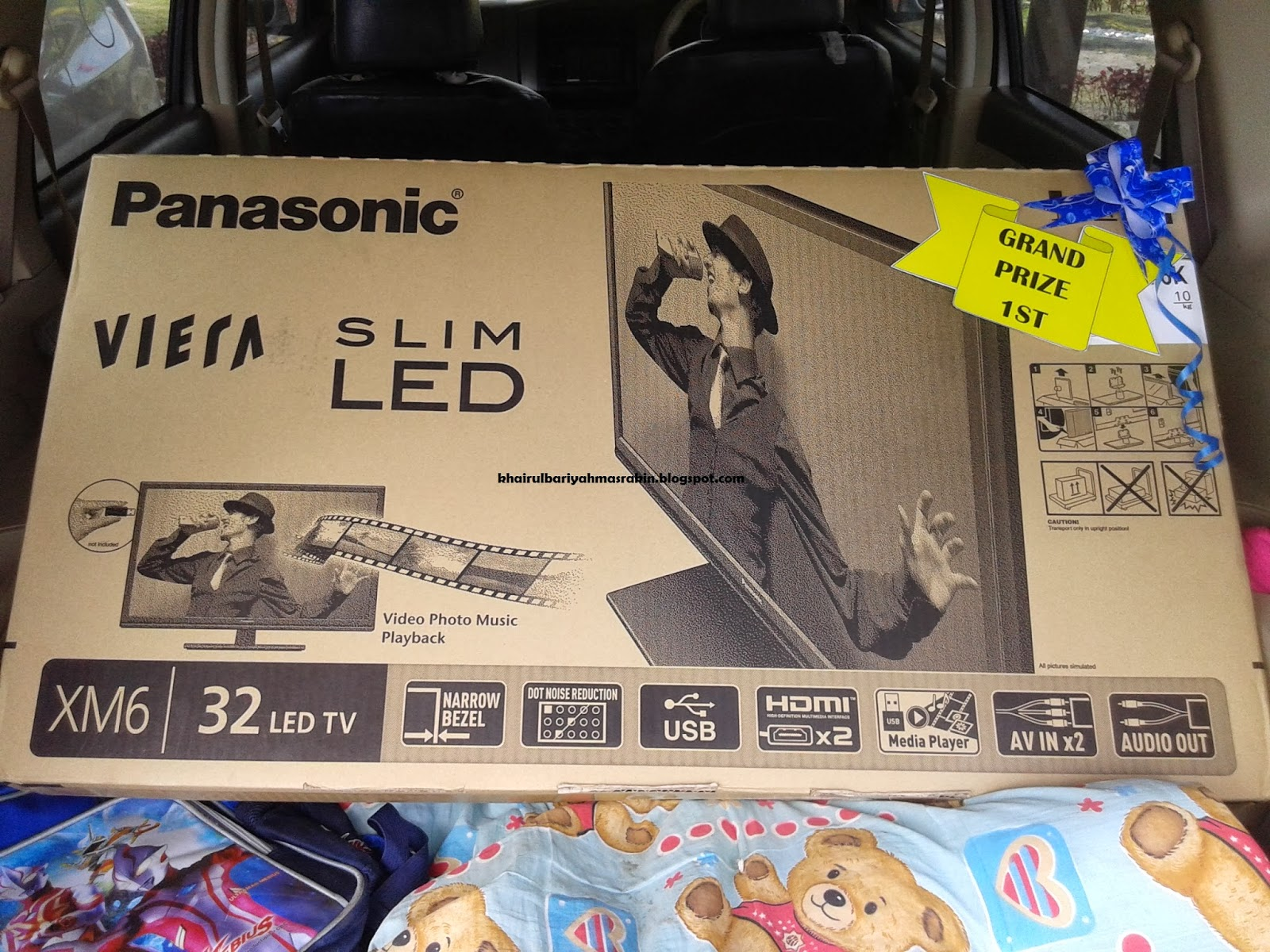 TV, LED, panasonic, rezeki, cabutan bertuah