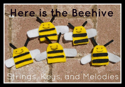 Finger Play Fun Day - Here is the Beehive! photo