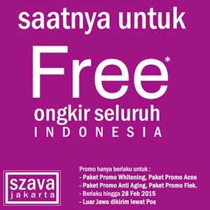 Free Ongkir Paket Szava Cosmetic