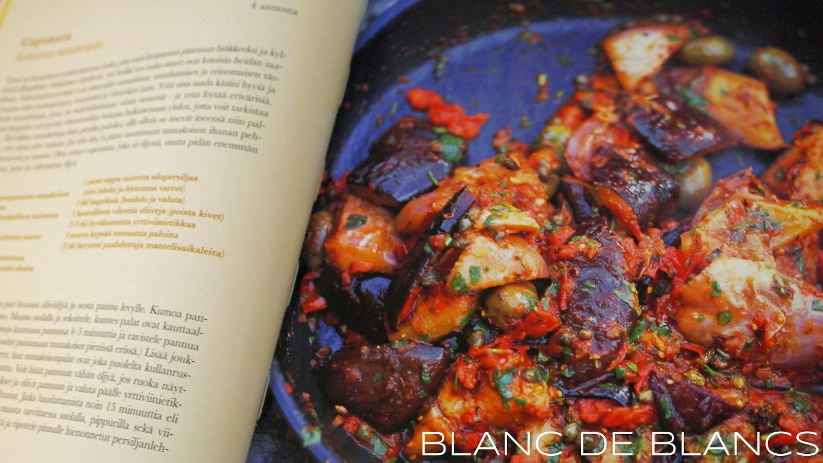 Jamie Oliverin caponata - www.blancdeblancs.fi
