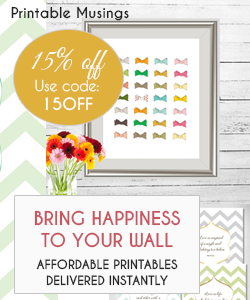 Budget Friendly Printables