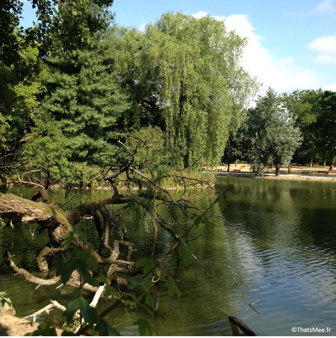 Lac de Saint-Mandé, Bois de Vincennes Paris 12ème