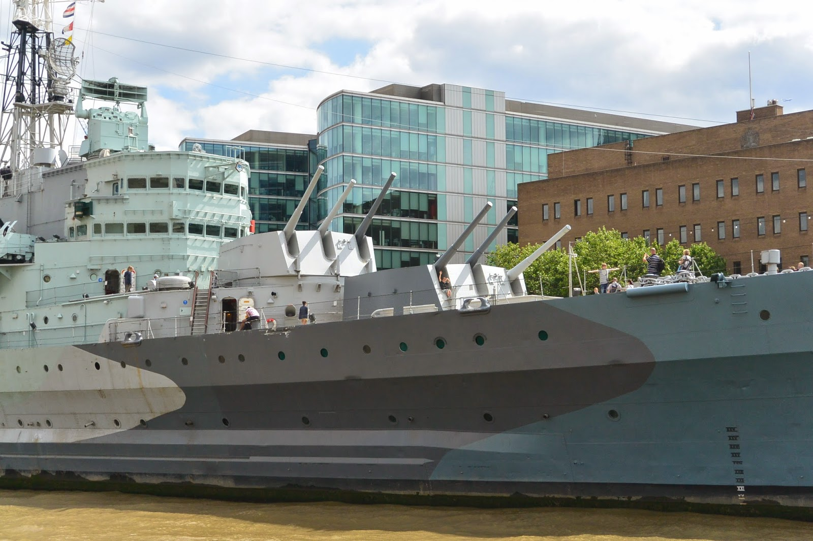 HMS Belfast, River Thames, London, UK