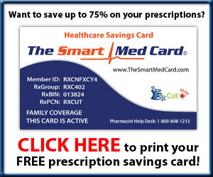 Free Prescription Discount Program