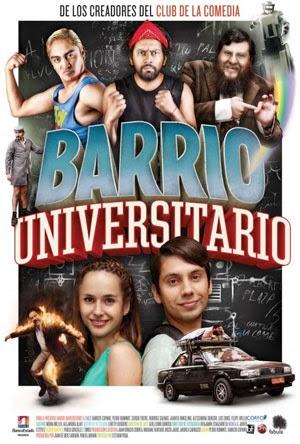Barrio Universitario (2013) DVDRip [Latino] PL