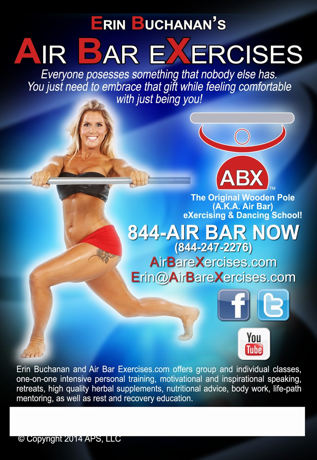 Air Bar Exercises DVD