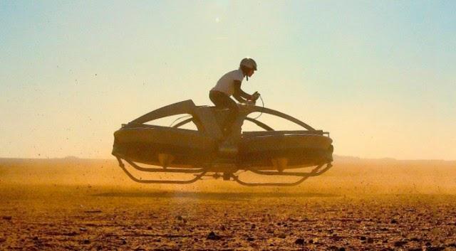 Aerofex Aero-X hoverbike prototype
