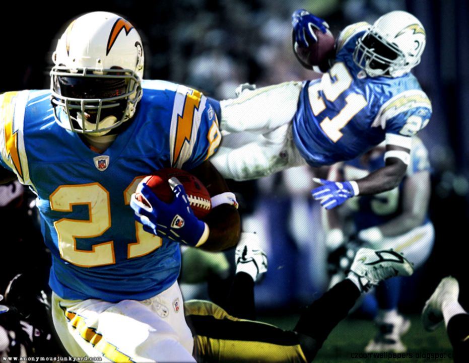 Wallpapers Nfl Chargers Anonymous Junkyard Ladainian Tomlinson
