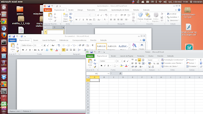 Microsoft Office no Ubuntu