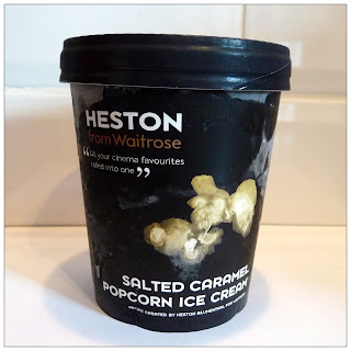 Heston From Waitrose Salted Caramel Popcorn Ice Cream