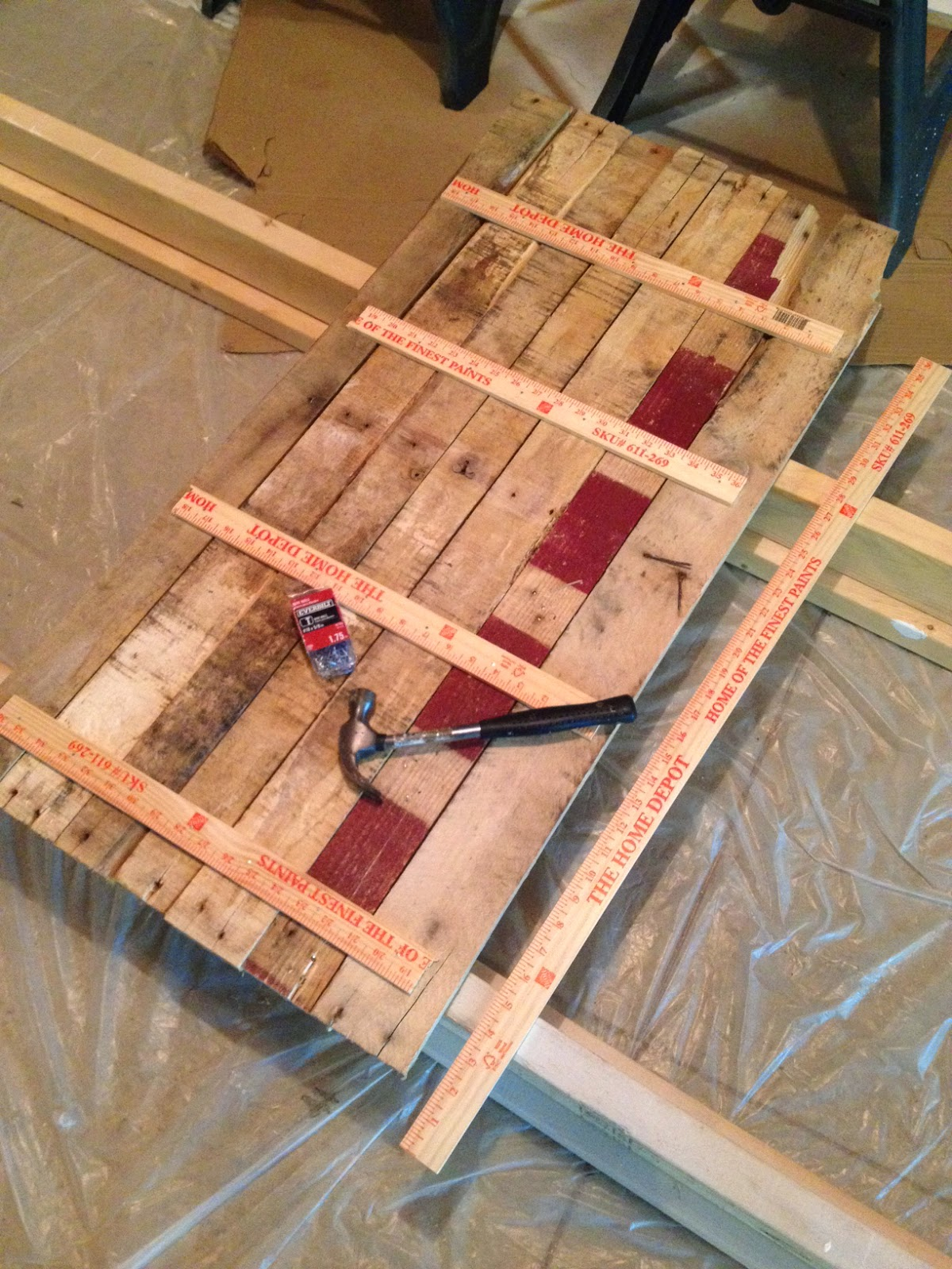 How to build pallet sign