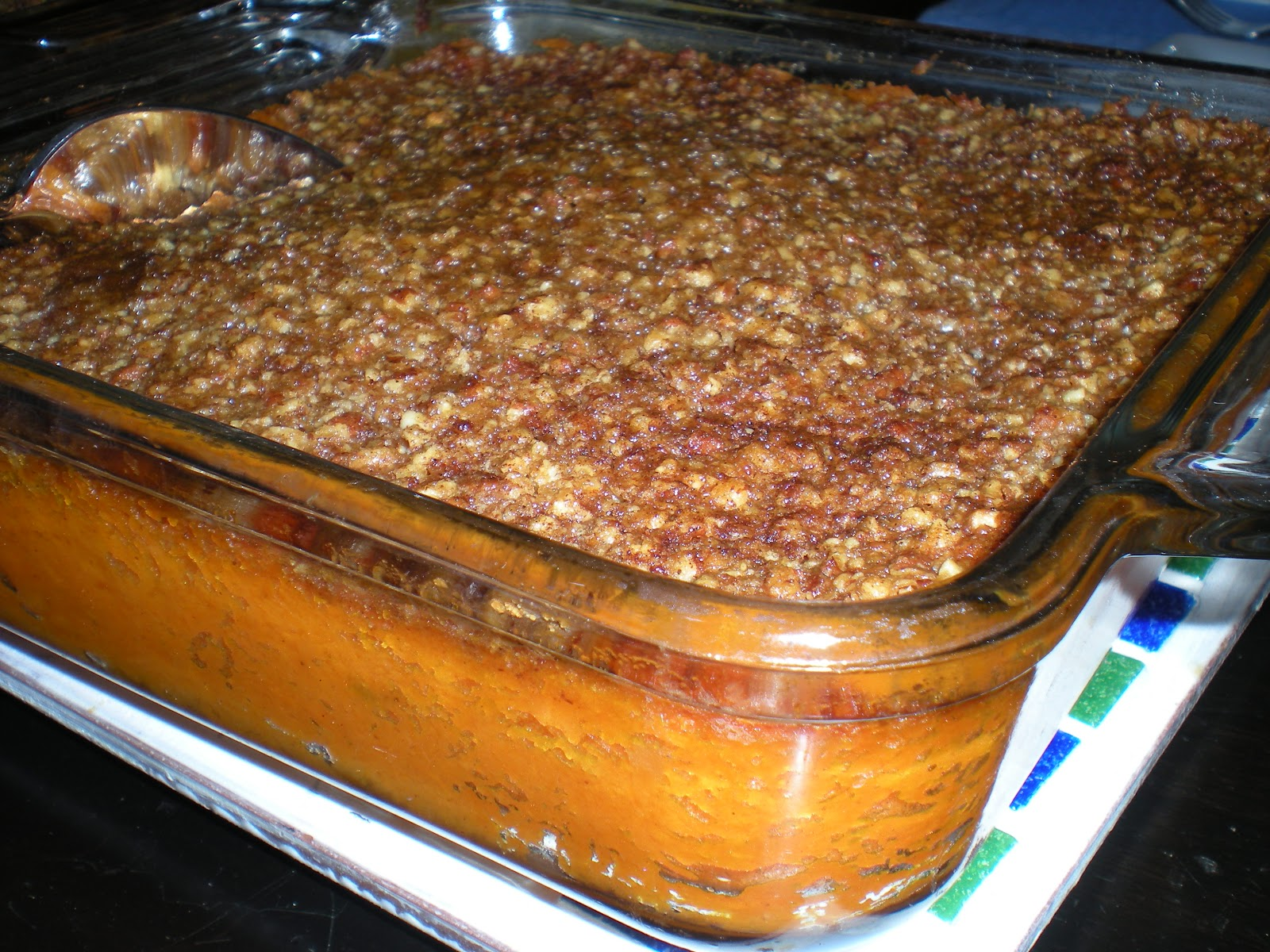 Ca-Meals: The Not-So Famous Dave's Sweet Potato Casserole