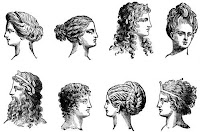model potongan rambut yunani kuno