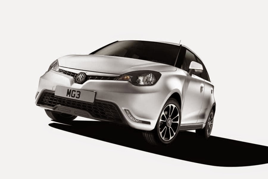 MG 3 (2014 European Spec) Front Side