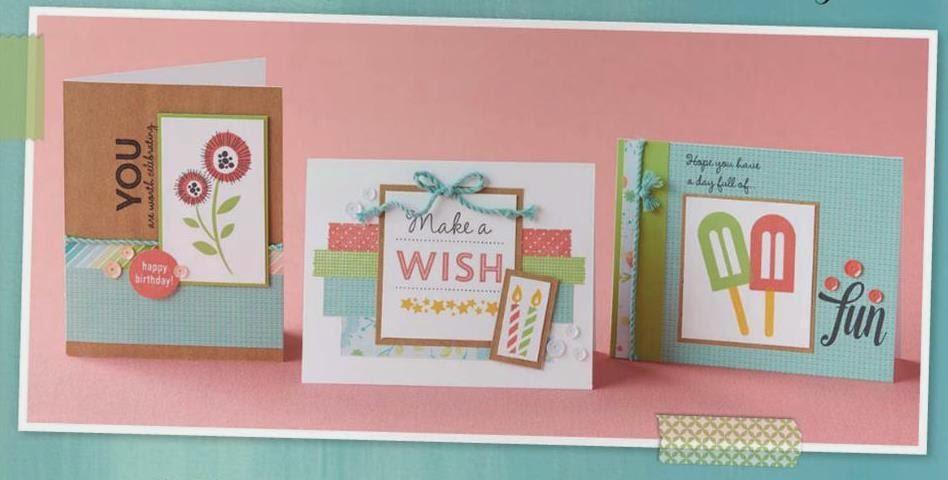 Kimberly Thomas Papercrafter Make A Wish 15 Birthday Card Girls