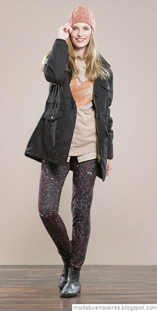Yagmour otoño invierno 2012: moda en talles reales.
