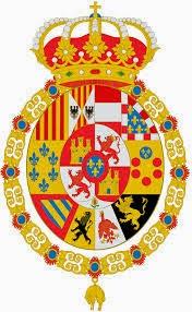 Escudo después de la restauración borbónica de 1813