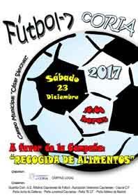"""VI CONVIVENCIA FÚTBOL-7 """"RECOGIDA DE ALIMENTOS"""""""