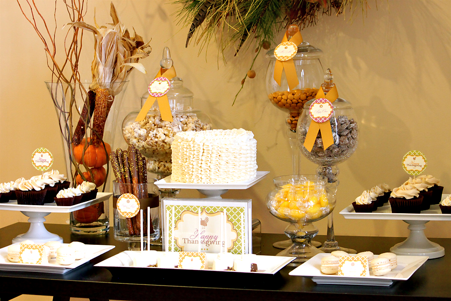 Thanksgiving Dessert Table Ideas | The Couture Cakery