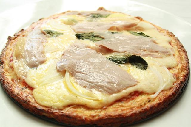 SCD pizza bez lepku paleo