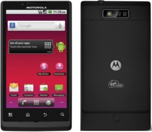 new Motorola Triumph review 2011