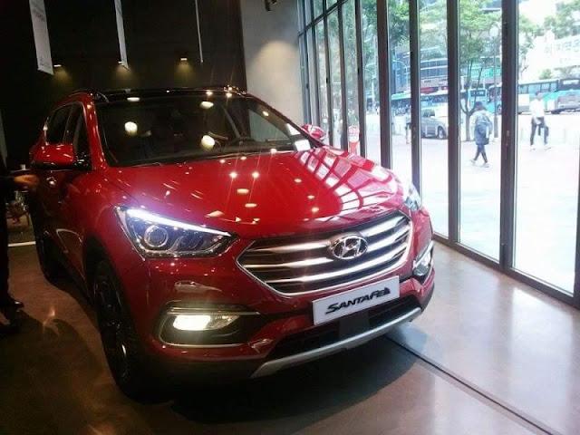 Perubahan Eksterior Hyundai Santa Fe Facelift