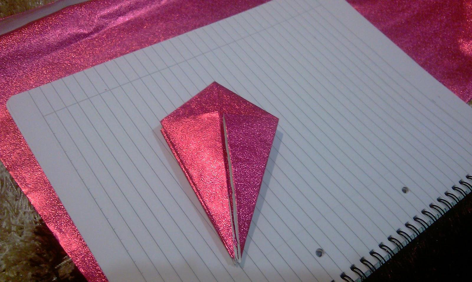 Cara-cara Membuat Origami Kotak (Bintang) | Bahagia itu milik kita...