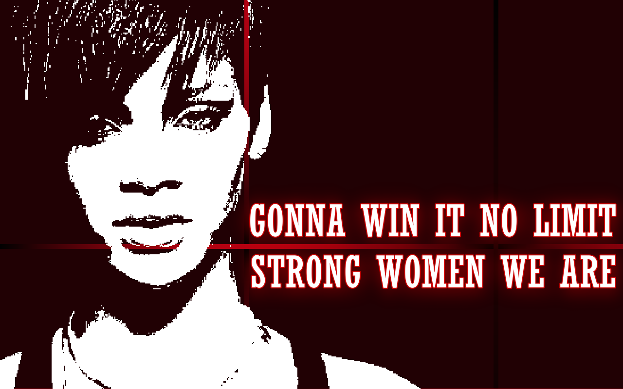 Winning Women - Rihanna Song Lyric Quote in Text ImageQuotes Rihanna Lyrics